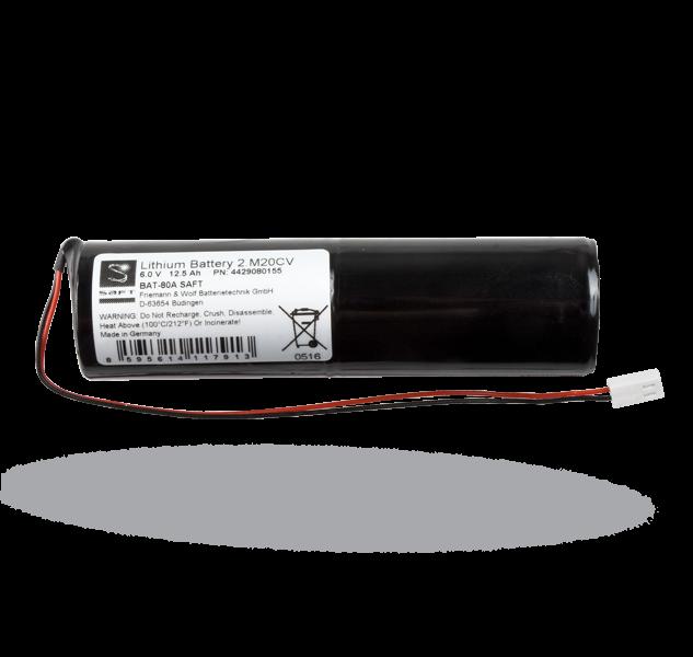6V Lithium Mangaan Dioxide batterij - 2.M20 CV - BAT-80A