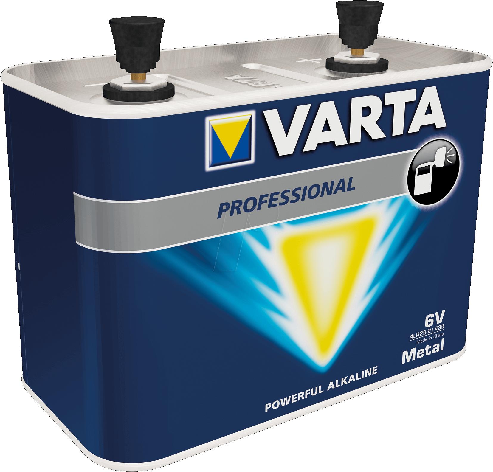 4LR25-2 Varta 435 Alkaline 6V