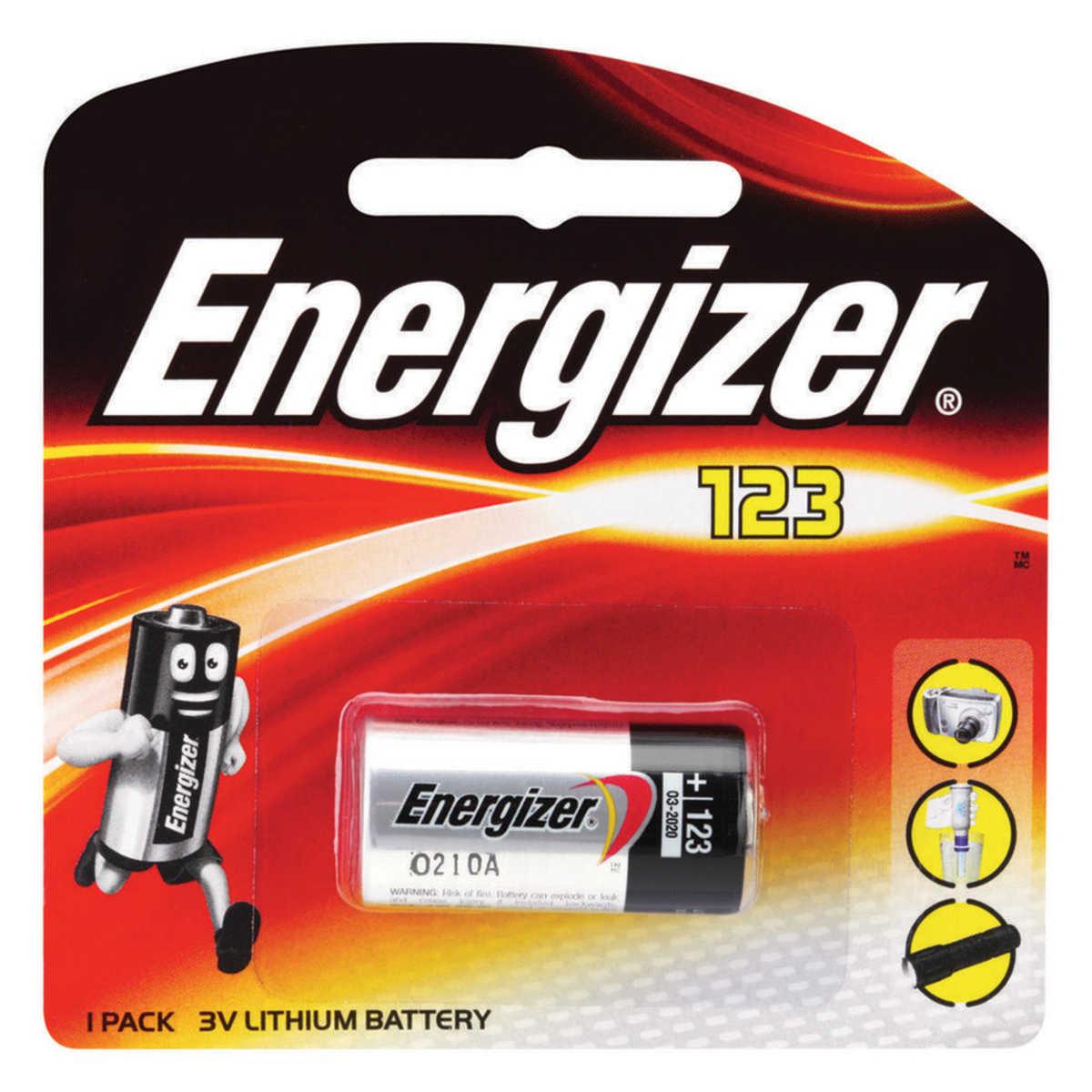 CR123A Energizer BL1