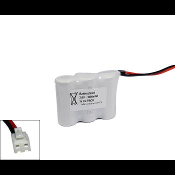 Arts Energy (Saft) NiCd 3,6V 1600mAh 3xCs VNT side by side met S04 aansluiting