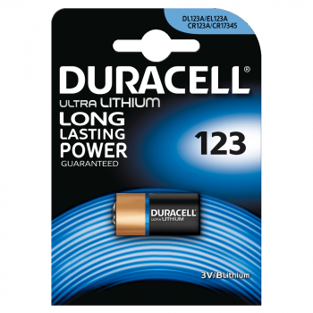 DL123 Duracell Ultra BL1