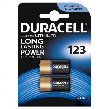 DL123 Duracell Ultra BL2