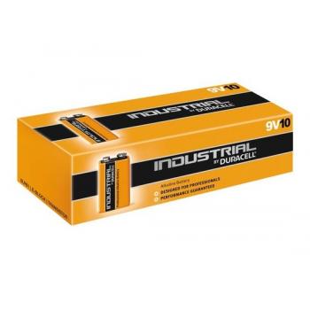 Duracell Industrial 9V Blok batterij Alkaline 10 stuks