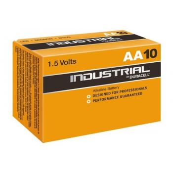 Duracell Industrial LR6 AA 1,5V Alkaline 10 stuks