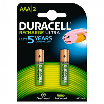 Duracell Recharge Ultra AAA BL2