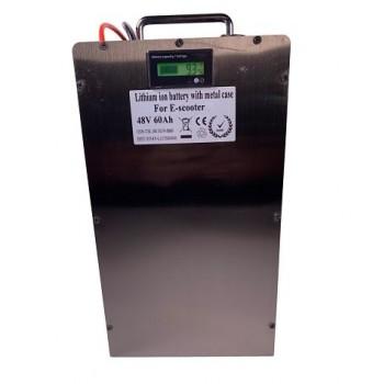 Lithium accu 48V 60Ah (13S) inclusief 10A lader