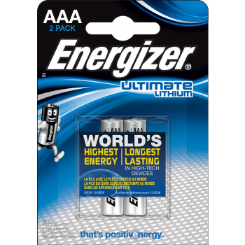 L91 Energizer Ultimate Lithium AAA BL2