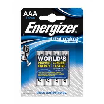 L92 Energizer Ultimate Lithium AAA BL4
