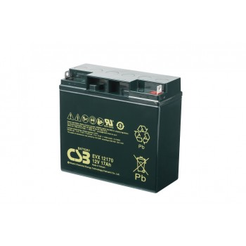 EVX12170B1 - 12V 17Ah Deep Cycle AGM loodaccu van CSB Battery