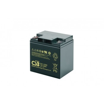 EVX12300 - 12V 30Ah Deep Cycle AGM loodaccu van CSB Battery