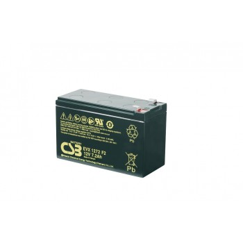 EVX1272 - 12V 7,2Ah Deep Cycle AGM loodaccu van CSB Battery