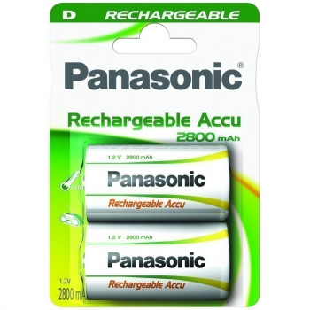 HHR-1SRE Panasonic READY2USE Rechargeable D BL2