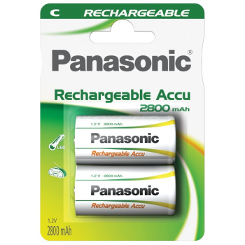 HHR-2SRE Panasonic READY2USE Rechargeable C BL2