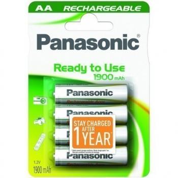 HHR-3MVE Panasonic READY2USE Rechargeable AA BL4