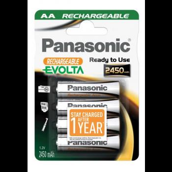 HHR-3XXE Panasonic Evolta Rechargeable AA BL4