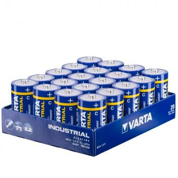 4014 Varta Industrial C 20 stuks