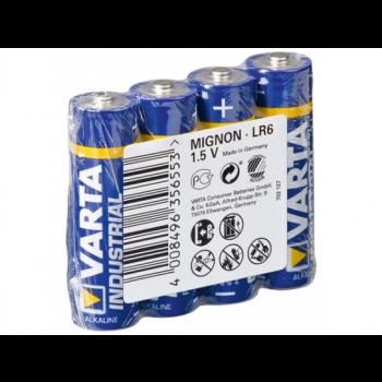 4006 Varta Industrial AA 4 stuks
