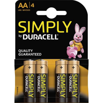 MN1500 Duracell Simply AA BL4