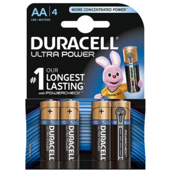 MX1500 Duracell Ultra Power AA BL4