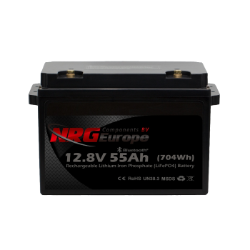 LiFePO4 accu 12,8V 55Ah met APP (parallel versie)