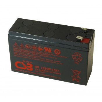 UPS vervangings batterij 1 x HR1224WF2F1 CSB Battery