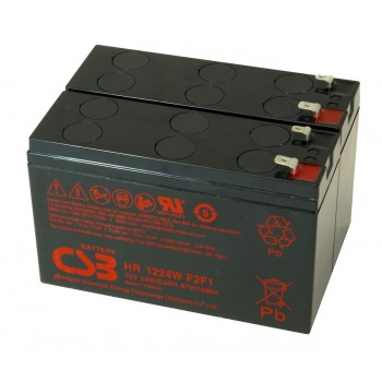 UPS vervangings batterij 2 x HR1224WF2F1 CSB Battery