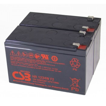 UPS vervangings batterij 2 x HR1234WF2 CSB Battery