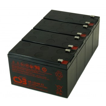 UPS vervangings batterij 4 x HR1234WF2 CSB Battery