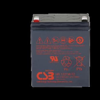 UPS noodstroom accu 8 x HR1221WF2 van CSB Battery