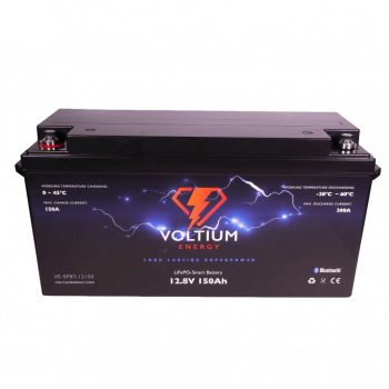 Voltium Energy® LiFePO4 accu 12,8V 150Ah met APP