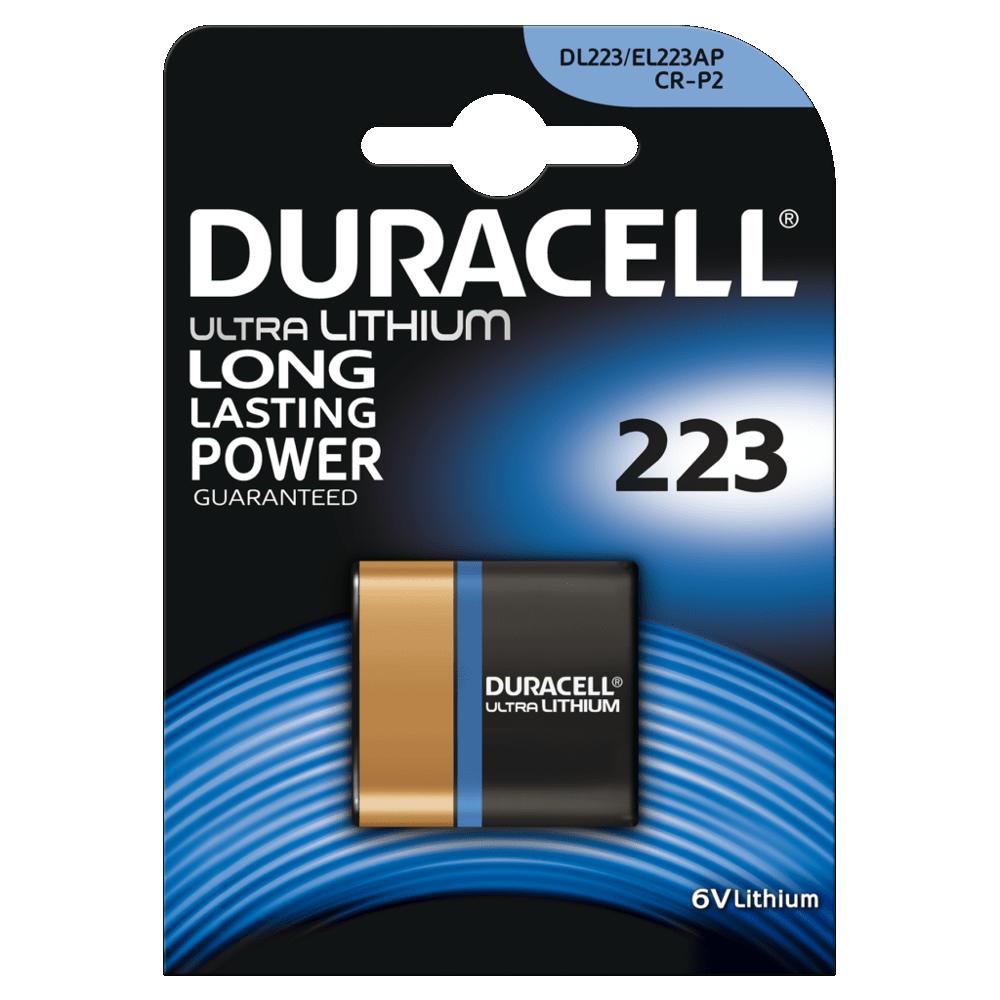 DL223 Duracell Ultra BL1