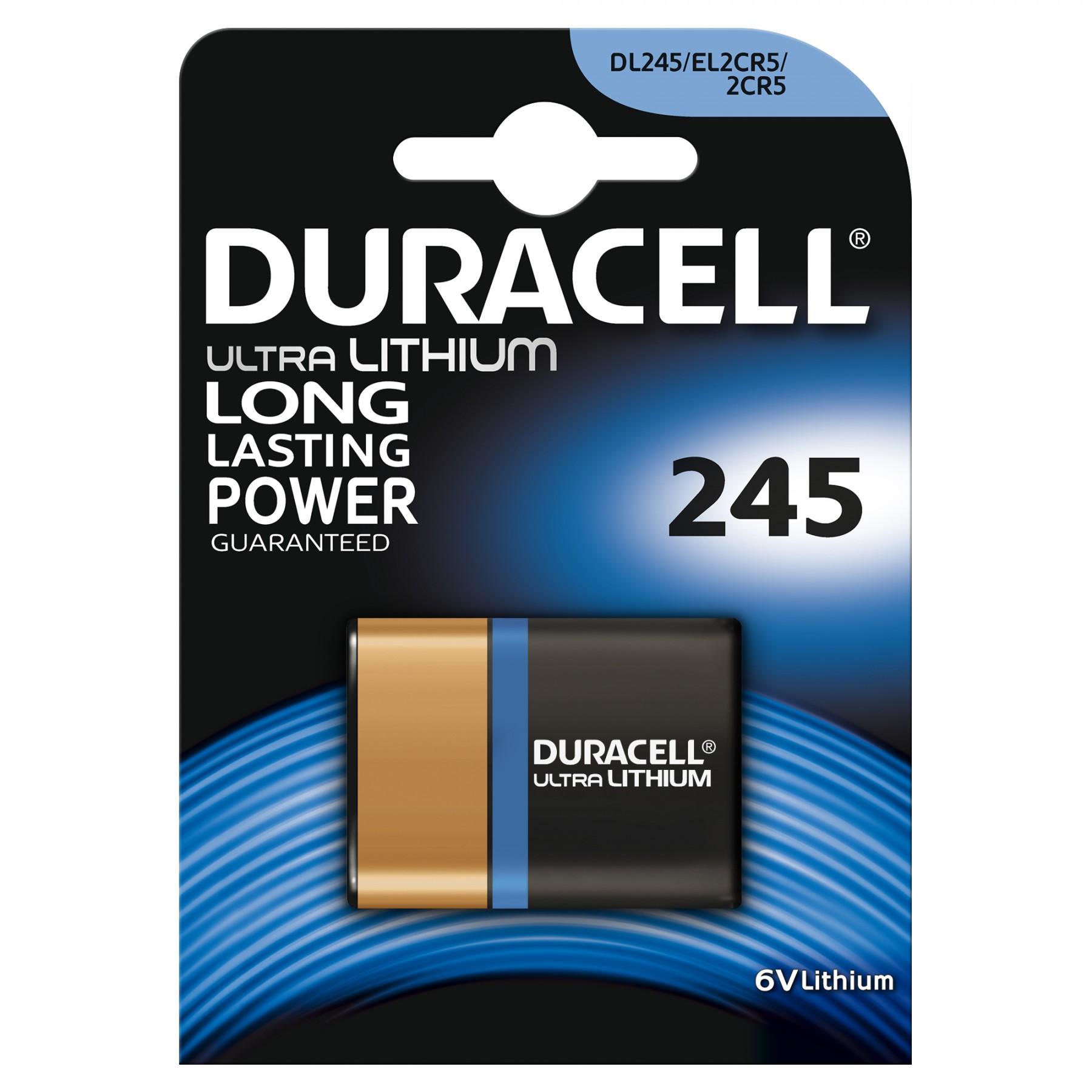 DL245 Duracell Ultra BL1
