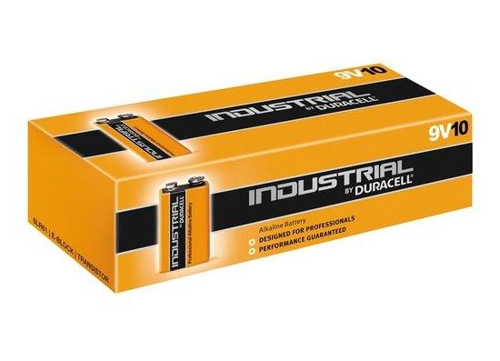 Duracell Industrial 9V Blok batterij Alkaline