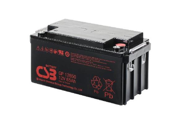 GP12650 - 12V 65Ah AGM Algemeen gebruik van CSB Battery