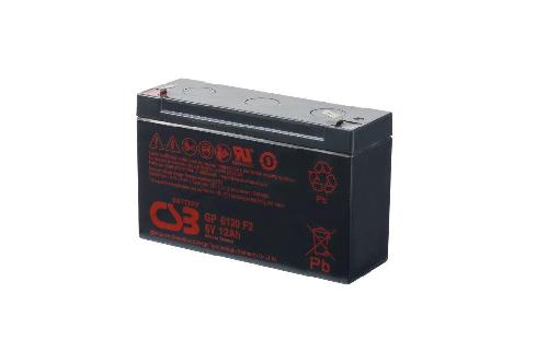 GP6120 - 6V 12Ah AGM Algemeen gebruik van CSB Battery