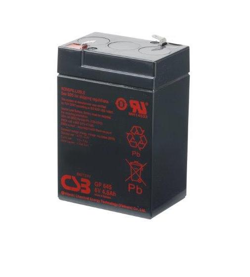 GP645 - 6V 4,5Ah AGM Algemeen gebruik van CSB Battery