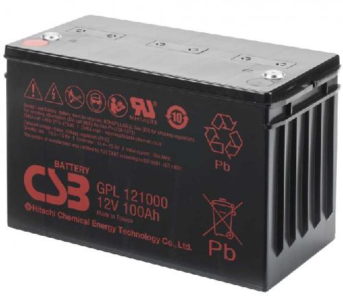 GPL121000 12V 100Ah AGM Algemeen gebruik Long Life van CSB Battery