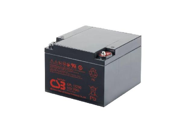 GPL12260 - 12V 26Ah AGM Algemeen gebruik Long Life van CSB Battery