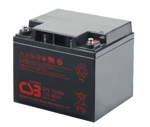 GPL12400 - 12V 40Ah AGM Algemeen gebruik Long Life van CSB Battery