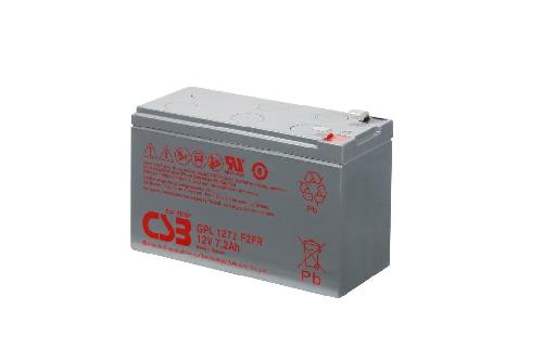 GPL1272 - 12V 7,2Ah AGM Algemeen gebruik Long Life van CSB Battery