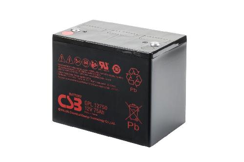 GPL12750 - 12V 80Ah AGM Algemeen gebruik Long Life van CSB Battery