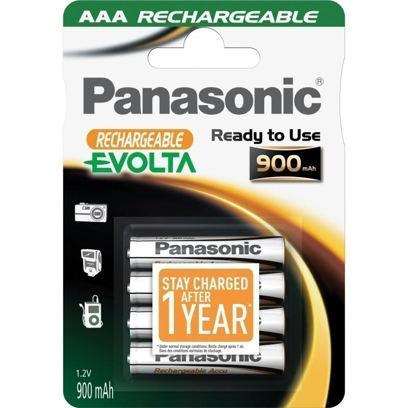 HHR-4XXE Panasonic Evolta Rechargeable AAA BL4