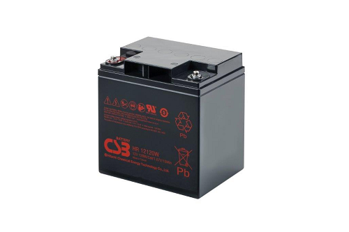 HR12120W - 12V 30Ah 120W AGM High Rate van CSB Battery