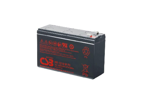 HR1218W - 12V 4,5Ah 18W AGM High Rate van CSB Battery