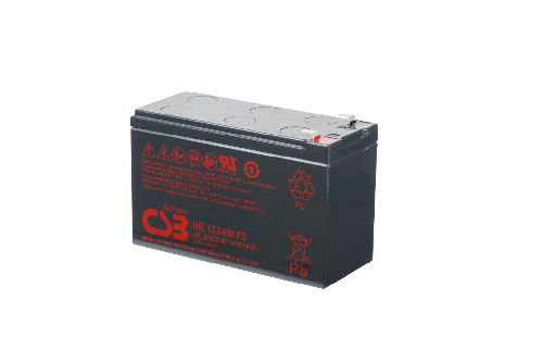 HR1234W - 12V 8,5Ah 34W AGM High Rate van CSB Battery