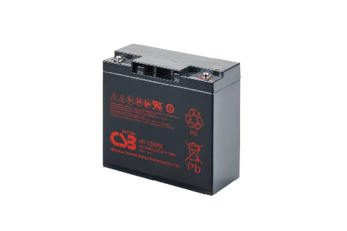 HR1290W - 12V 22,5Ah 90W AGM High Rate van CSB Battery