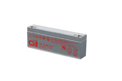 HRL1210W - 12V 2,5Ah 10W AGM High Rate Long Life van CSB Battery