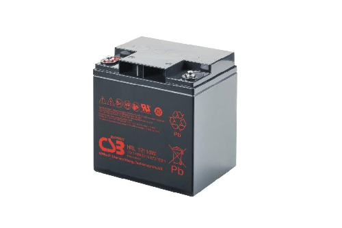 HRL12110W - 12V 27,5Ah 110W AGM High Rate Long Life van CSB Battery