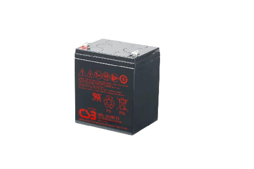HRL1223W - 12V 5,75Ah 23W AGM High Rate Long Life van CSB Battery