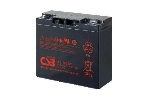 HRL1280W - 12V 20Ah 80W AGM High Rate Long Life van CSB Battery